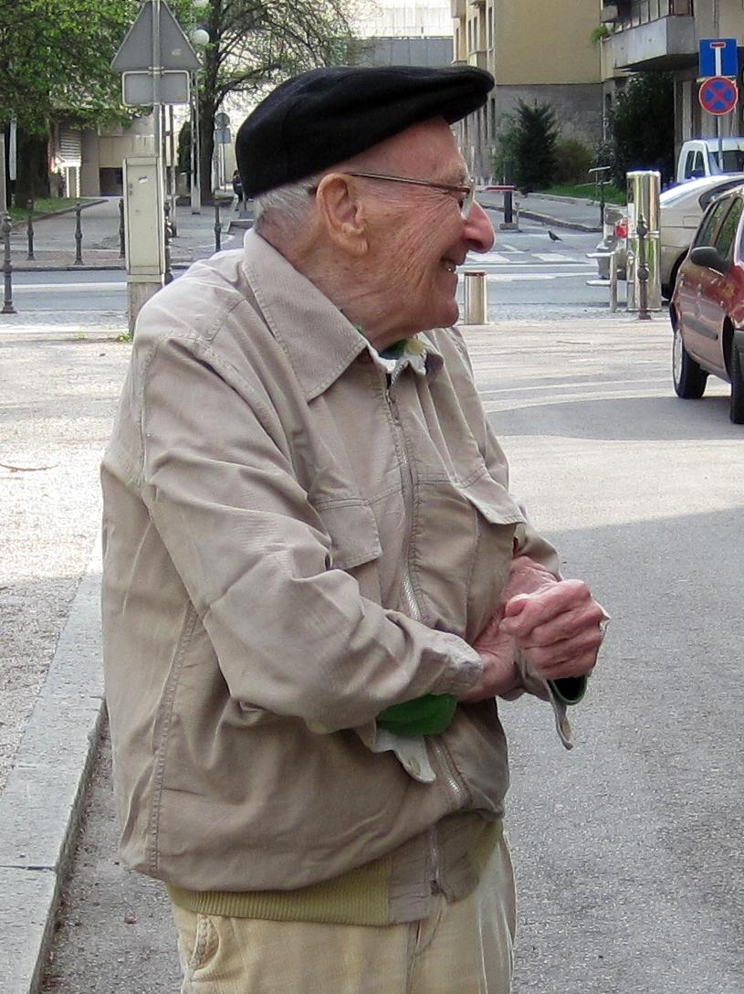 1.Jan Carnelutti 31.1.1920 – 8.11.2012. Spominjamo se ga po njegovi pozitivni energiji in nalezljivem nasmehu. Foto: Slavko Polak