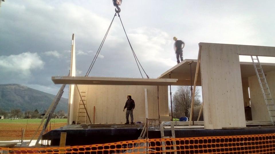 Gradnja novega Centra za obiskovalce