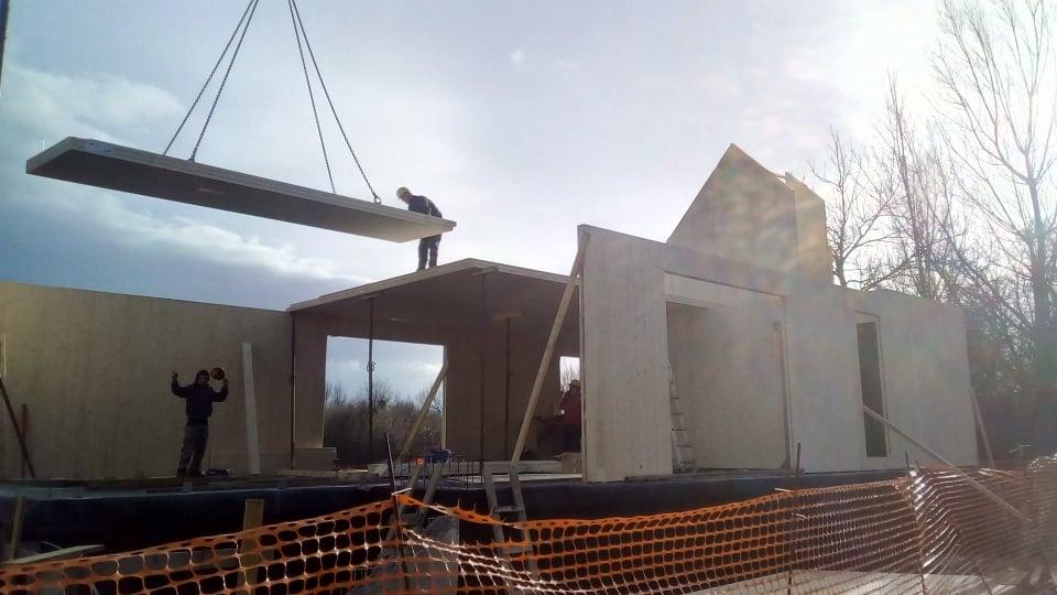 Takole trenutno gradijo nov Center za obiskovalce