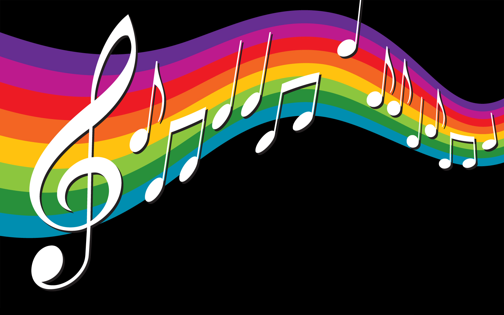 Rainbow Music Notes Background Hd Wallpaper Background Images: 8589130490590_rainbow_music_notes_wallpaper_hd.jpg