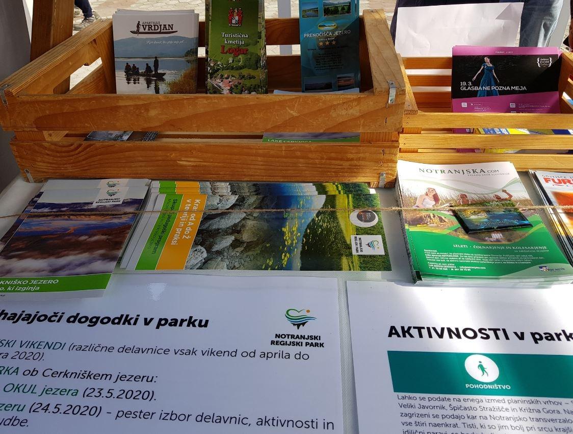 Informacije o aktivnostih, dogodkih in ponudbi v Notranjskem parku
