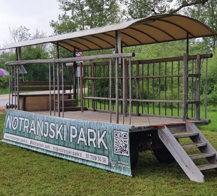 Tu bo mogoče dobiti vse informacije v zvezi z Notranjskim parkom in turizmom v Cerknici