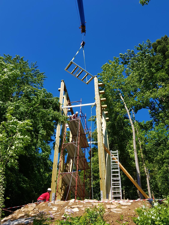 Opazovalnica Stolp bo visoka 10 metrov in bo ponujala veličasten razgled